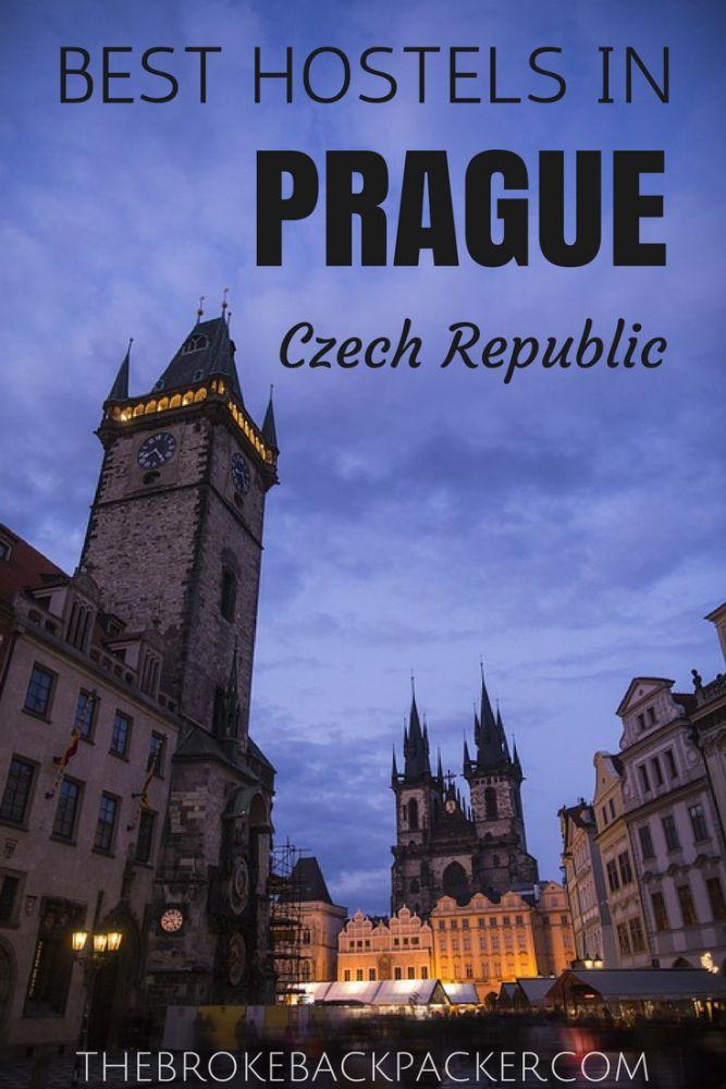 Best Hostels in Prague, Czech Republic | The Broke Backpacker