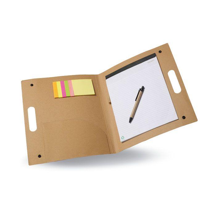 folder synedriwn me mplok stylo k post it