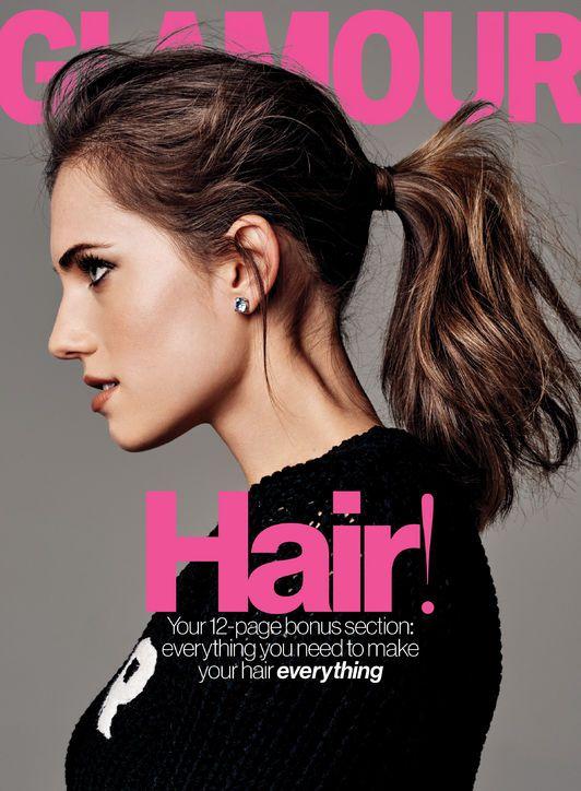 Allison Williams for Glamour Magazine February 2015