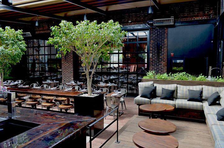 Terrasse le richmond for Le jardin richemond