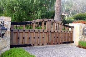 #wooden #driveway #gates