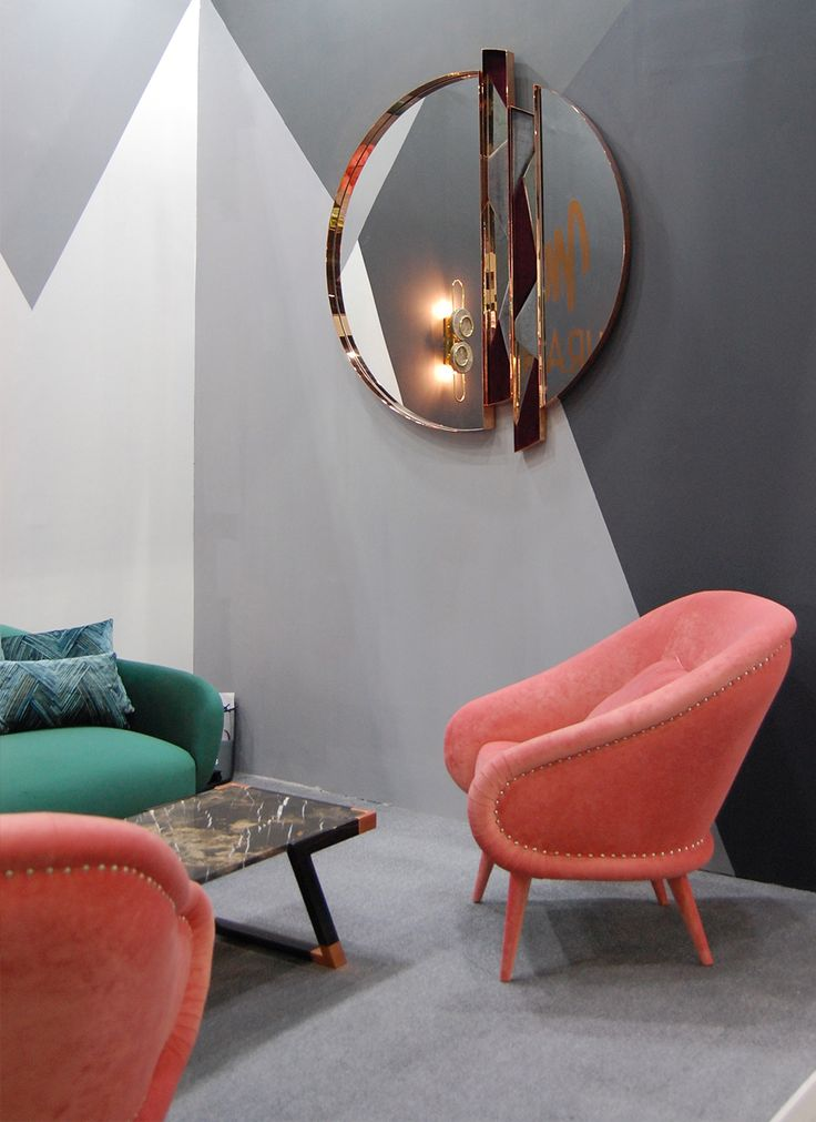 Zircon Wall Mirror - Zircon Wall Mirror is the perfect piece for a contemporary or modern home decor. #zircon #wallmirror #wall #mirror #hotelshowdubai #tradeshow #muranti #luxury #furniture #upholstery #interiordesign #trends #homedecor #style #modern #furnituredesign  Find more at: www.muranti.com