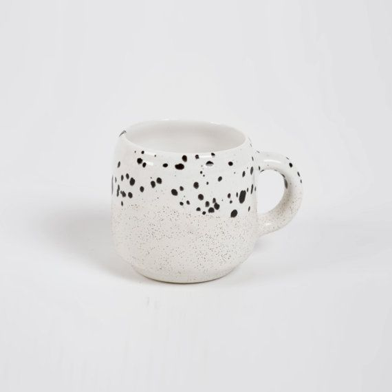 Choco Mug Ecru and White