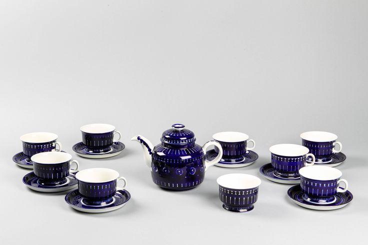 Ulla Procopé, ARABIA, teeastioita.