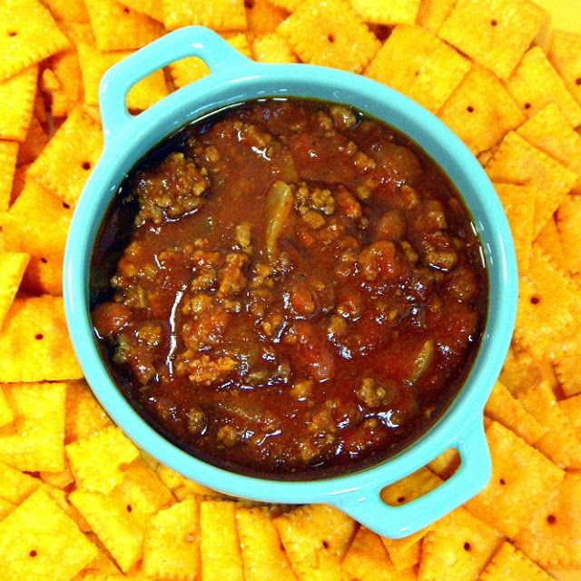 Inspired By eRecipeCards: Chili with Beans - On a bitter cold day, you want CHILI