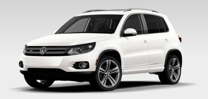 Volkswagen - 2014 Tiguan R Line 2.0T, 200 hp TSI® engine, 6-speed automatic transmission with Tiptronic®, Sport mode and 4Motion®