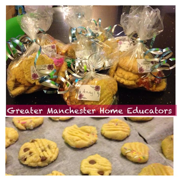 Bake biscuits and make pretty parcels to give to your for Eid decorations to make at home