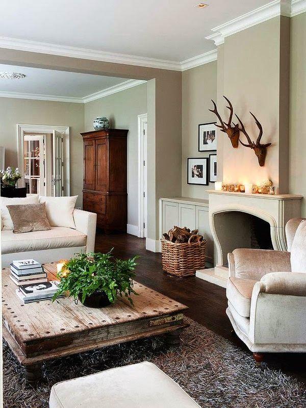 Cool Chic Style Attitude: Interiors | una casa vicino al fiume