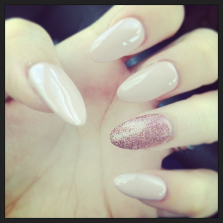Almond nails | nails nails nails | Pinterest