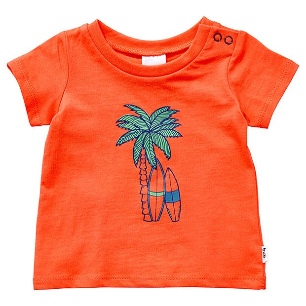 Boys' Short Sleeve Palm Tree Print T-Shirt | Target Australia