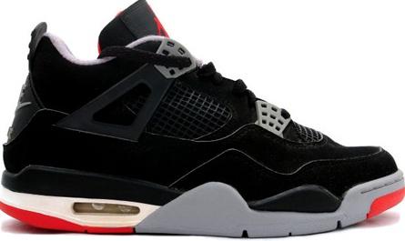 Jordan Shoes Air Jordan 4 Retro 1999 Black Cement Black Cement Grey [Air  Jordan 4 - The Air Jordan 4 (IV) Retro Black/Cement Grey aka Black Cement  released ...