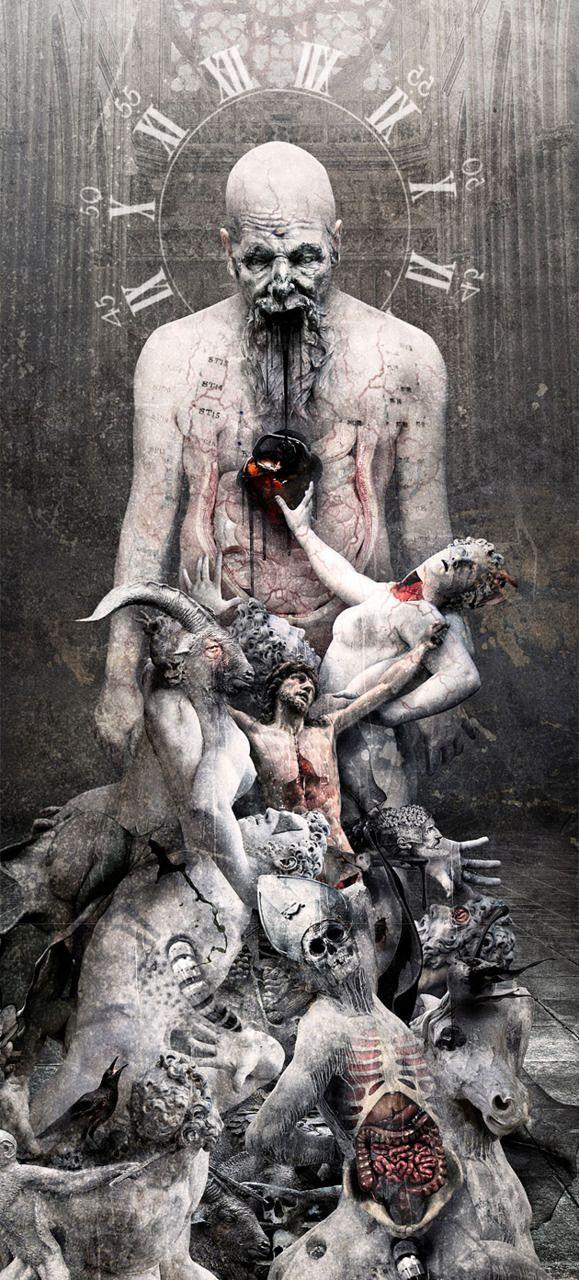 "SEPTICFLESH ""THE GREAT MASS"" ARTWORK by Seth siro anton"