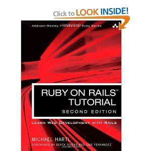 Ruby on Rails Tutorial: Learn Web Development with Rails (2nd Edition) (Addison-Wesley Professional Ruby Series): Michael Hartl: 97803218320...  #rubyonrails #learning #books