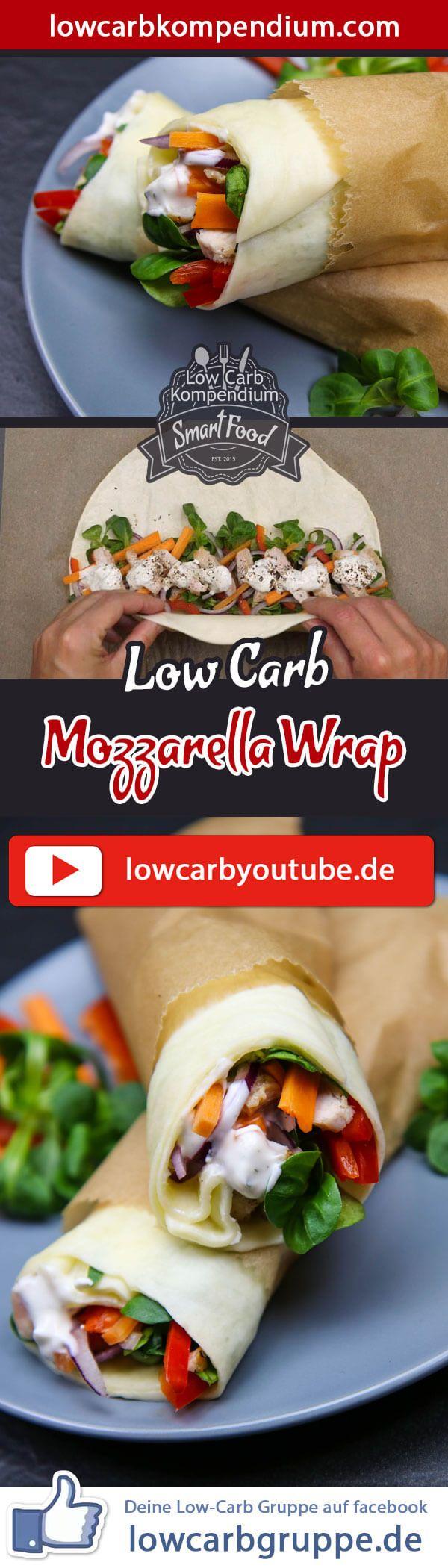 (Low Carb Kompendium) – Der Mozzarella Wrap ist unglaublich beliebt und in aller Munde. Der eigentliche Wrap besteht nur ais einer einzigen Zutat und du kannst den Mozzarella Wrap anschließend mit deinen Lieblingszutaten ganz nach deinen Wünschen füllen :)    Der Low-Carb Mozzarella Wrap ist ideal als Snack oder zum Frühstück. Wir zeigen dir, wie Du diesen leckeren Wrap aus Mozzarella ganz einfach selbst machen kannst :)