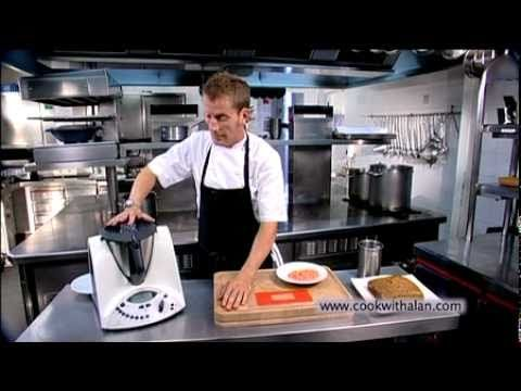 Thermomix - Carrot Cake, Carrot Tuile, Cream Cheese Ice Cream with Alan Murchison
