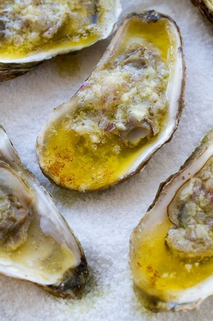 Savory and Decadent Broiled Oysters