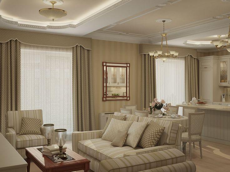 Легкая классика: интерьер квартиры в Москве