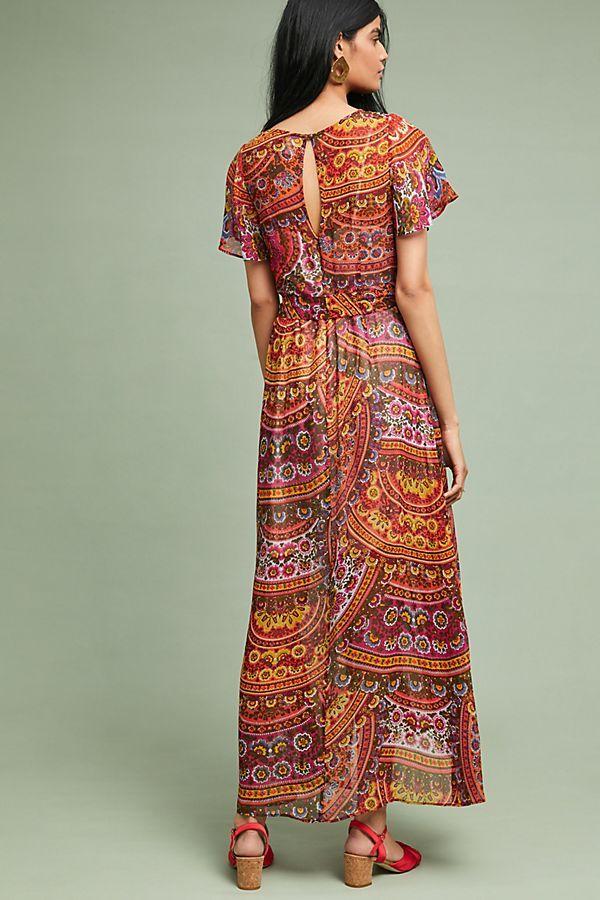 c0f09f7a46629 Murol Wrapped Maxi Dress   My closet   Maxi wrap dress, Dresses, Wraps