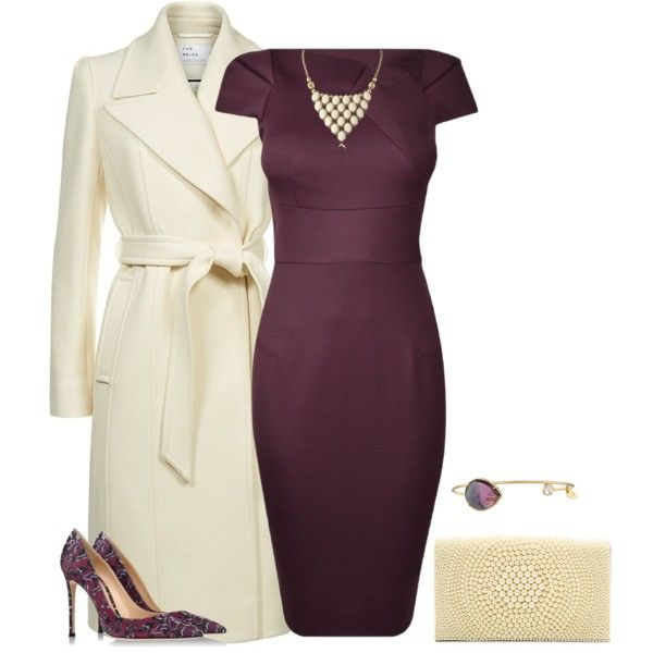 outfit 1489 by natalyag on Polyvore featuring Roland Mouret, Reiss, Alice + Olivia, Lucky Brand and Jemma Wynne