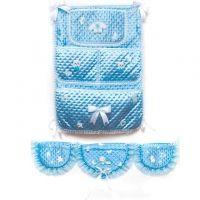 Украшения для детской кроватки с кармашками, купить украшение детской кровати на выписку #шарыдляфотосессии #шарынедорого #беременность_пп #ждумоегомалыша #шариком #мамаидочь #наклейкинамашину #свадьба #1месяц #13недель #лавинсити #28недель #21неделя
