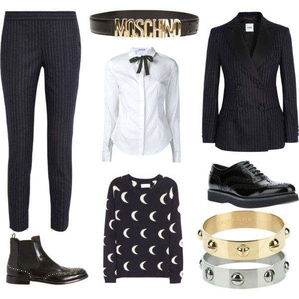 """boy meets girl"" by stockholmmarket on Polyvore"