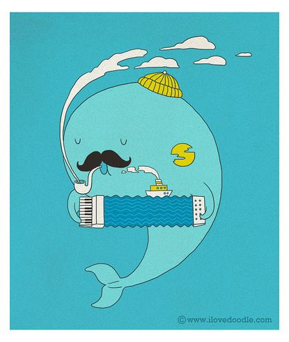 Heng Swee Lim: Inspiration, Illustrations, Doodle, Art, Photo, Fishermans, Fisherman S Song, Animal, Whales