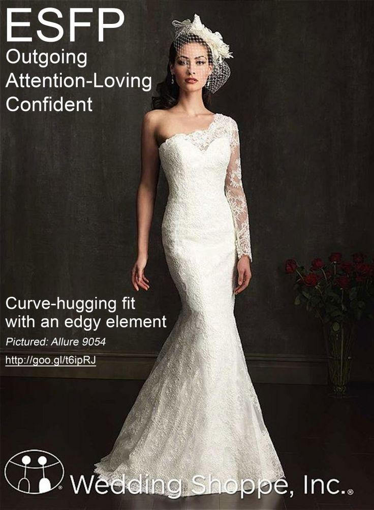Wedding Style Wedding Dress Shopping By Myers Briggs Personality Type Esfp Wedding Fashion