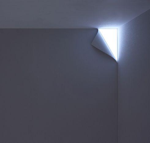 壁がめくれた照明。 PEEL - まとめのインテリア / デザイン雑貨とインテリアのまとめ。