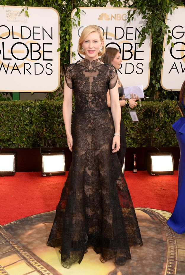 Cate Blanchett--I love this dress. I hope more looks like this crop up in the future.