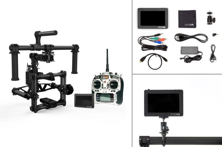 Freefly MōVI M5 + Radio Transmitter and SmallHD DP4 Package