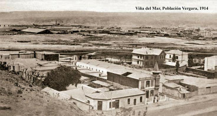 Población vergara año 1900 viña del mar