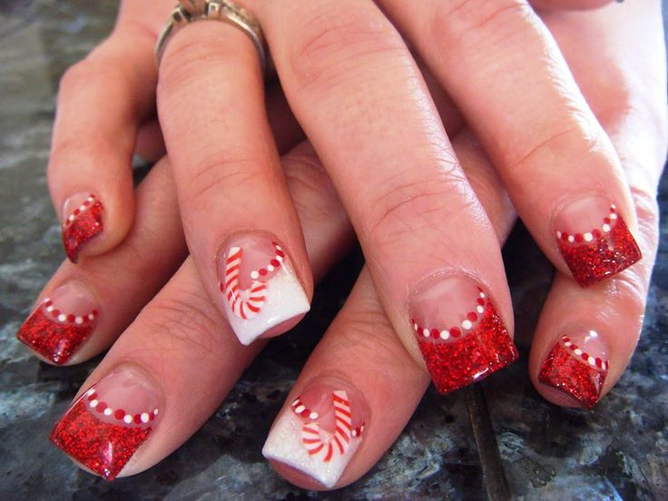 Nail Art Designs for Christmas 2013 Collection - Best 25+ Nail Designs For Christmas Ideas On Pinterest Nail Art