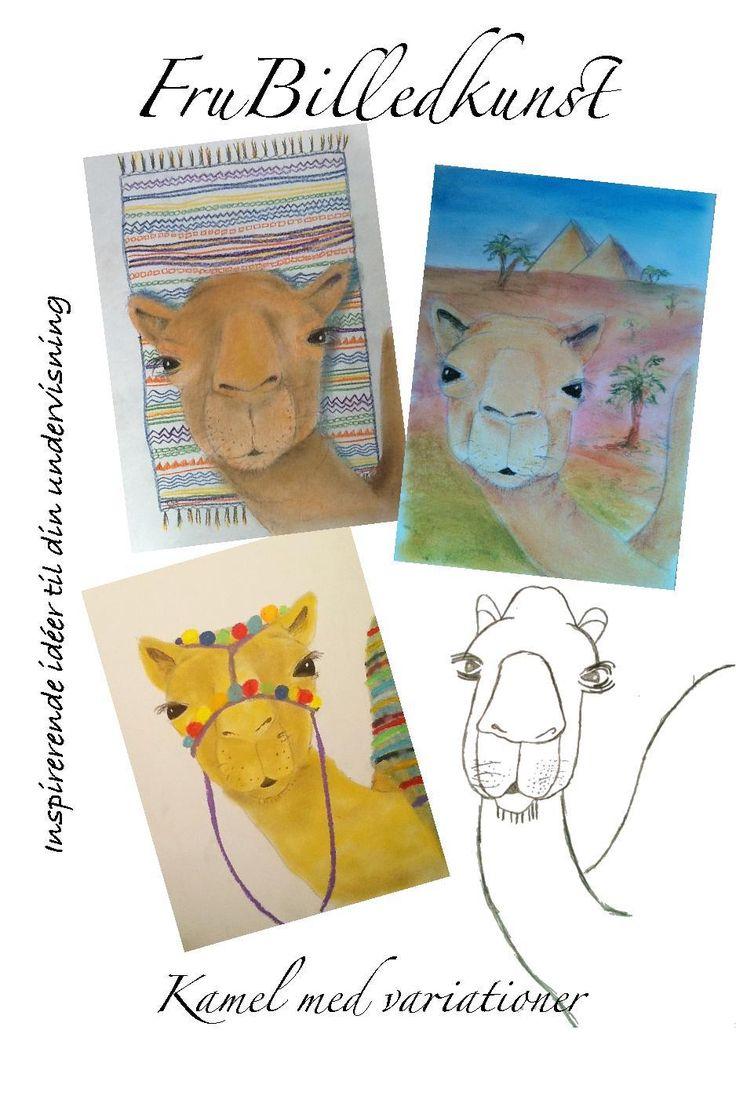Camel art lesson