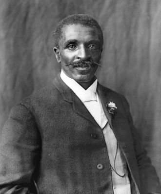 George Washington Carver born in Diamond, Missouri 1864.