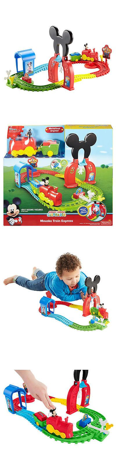 Mickey 19219: New Fisher-Price Disney Mickey Mouse Clubhouse Mouska Train Express Playset -> BUY IT NOW ONLY: $30.98 on eBay!