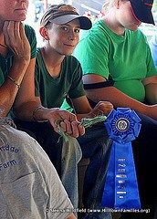 Youth Participation at Agricultural Fairs. Learning about History, Agriculture, Science & More