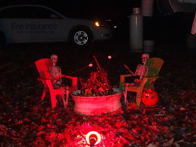 Decorating Ideas > Halloween Site Decorating  Halloween Camping  Pinterest  ~ 161501_Halloween Decorating Ideas Campground
