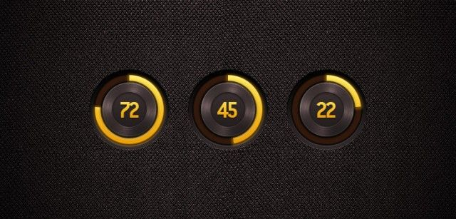 30 Free Amazing PSD Loading and Progress Bar Designs