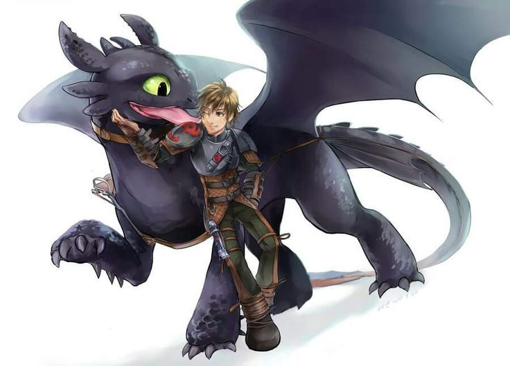 Image result for night fury and hiccup