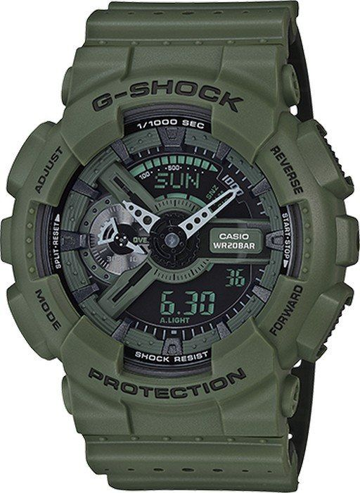 G-Shock GA110LP-3A Perforated Band Series