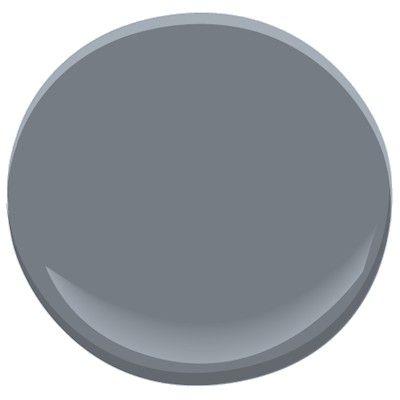 Best 25 benjamin moore smoke ideas on pinterest - Benjamin moore shaker gray exterior ...