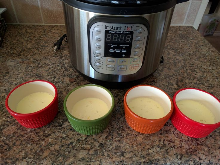 My Fruitful Life: Instant Pot Creme Brulee Recipe