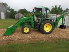 JOHN DEERE 4066R 4WD TRACTOR LOADER BACKHOE CAB 2016 W/ 150HRS MINT!backhoe loader financing apply now www.bncfin.com/apply