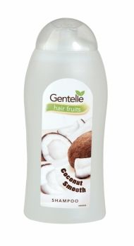 Gentelle Hair Fruits Shampoo 400ml Coconut Smooth The new Gentelle range provides a distinctive fruity fragrance, perfect for individual taste.