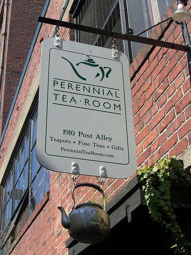 Perennial Tea Room Seattle All Things Tea Pinterest