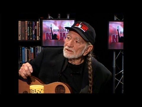 "Country Musician Willie Nelson Turns 80: ""One Person Carrying A Message Can Change the World"" - YouTube"