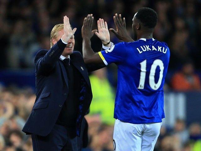 "Everton boss Ronald Koeman pleased with ""good point"""