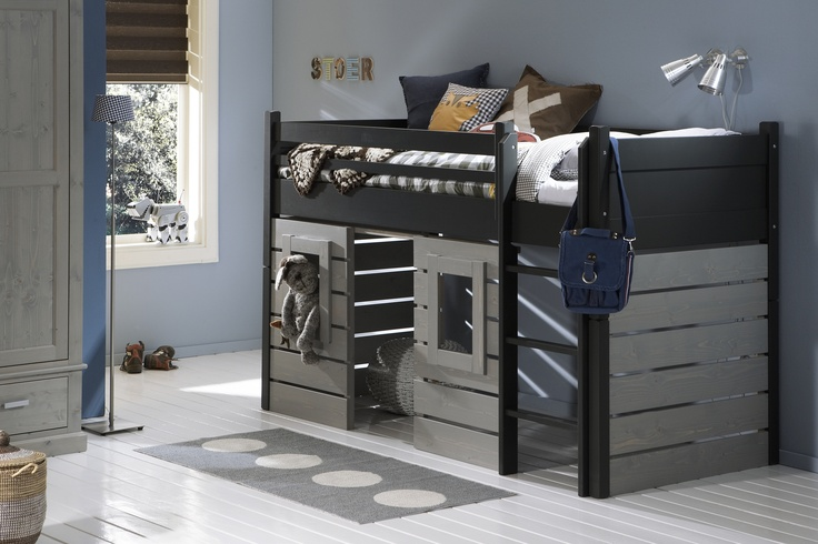 Meer dan 1000 idee n over boomhut slaapkamers op pinterest boomhutten slaapkamers en - Tiener slaapkamer kleur ...