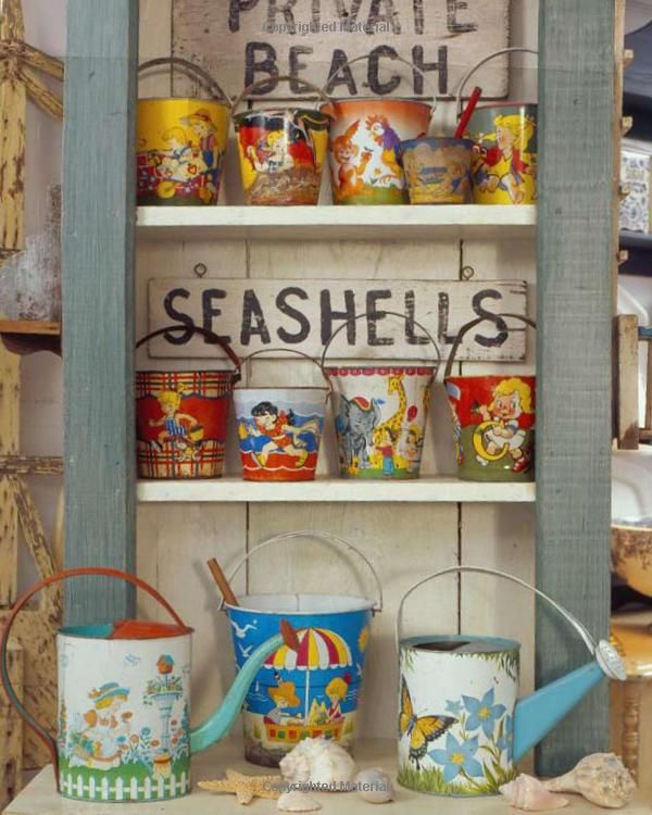 Love these pails! Amazon.com: Waterside Cottages (9781423603443): Barbara Jacksier, Dan Mayers: Books