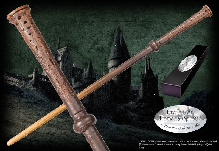 Professor Sprout's Character Wand - The Noble Collection